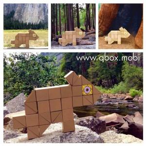 Qbox bear game