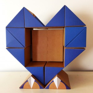 qbox heart blue
