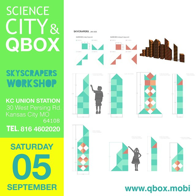 Qbox Skyscrapers Workshop at KC Science City