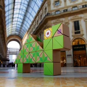 Qbox game camello Milán Duomo