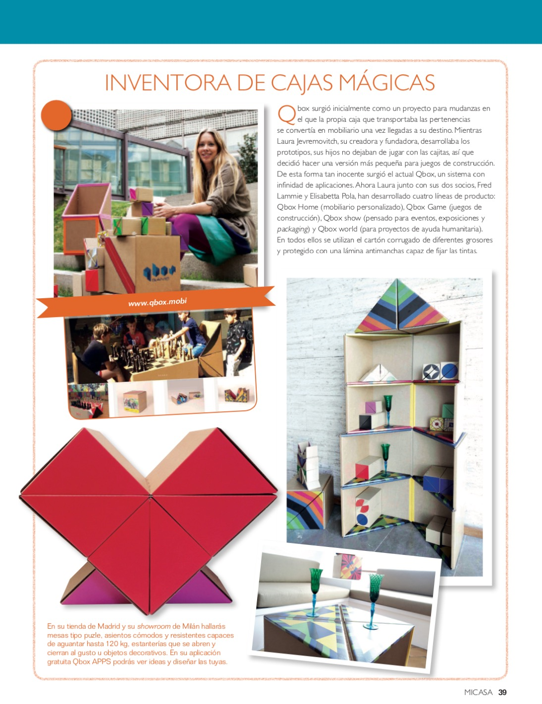 Qbox Para La Revista Mi Casa Qbox
